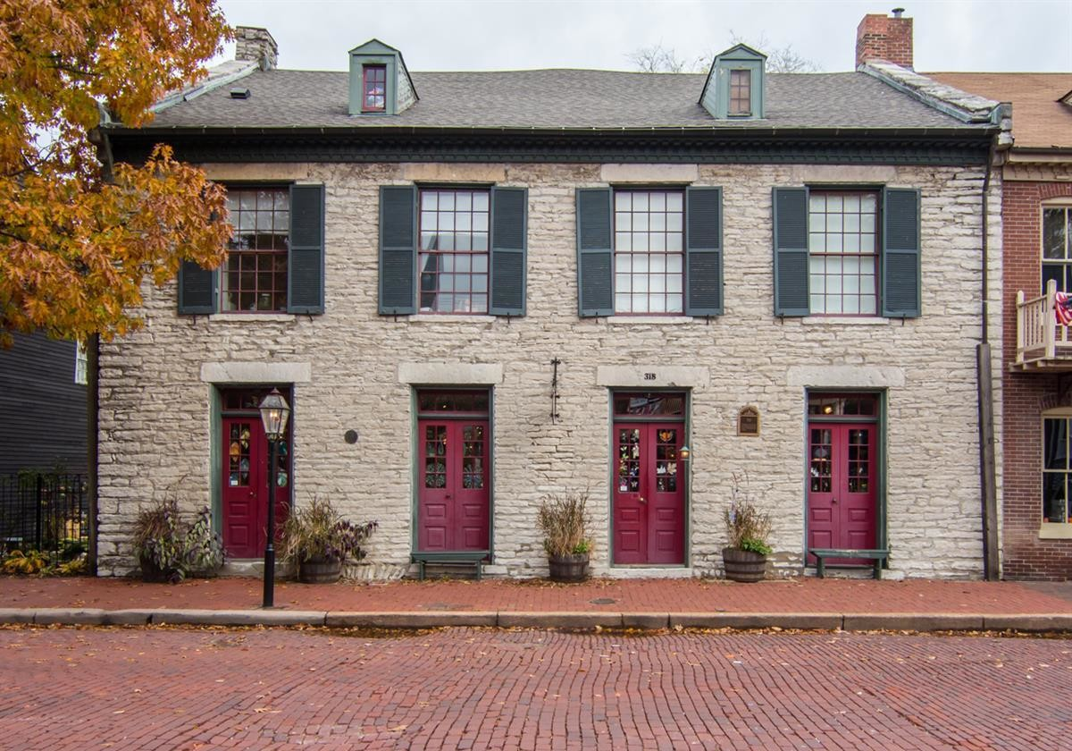 Stone Row, South Main Street, St. Charles, Missouri