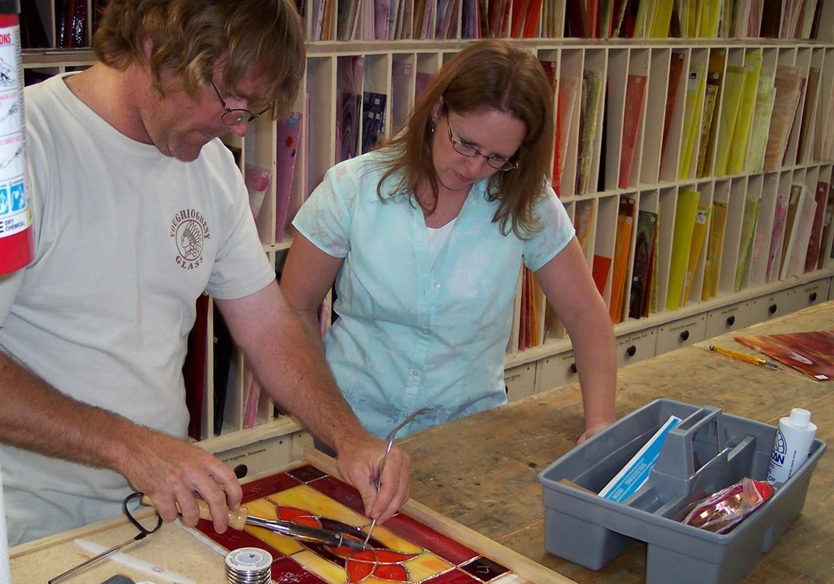 Stained and Fused Glass Classes