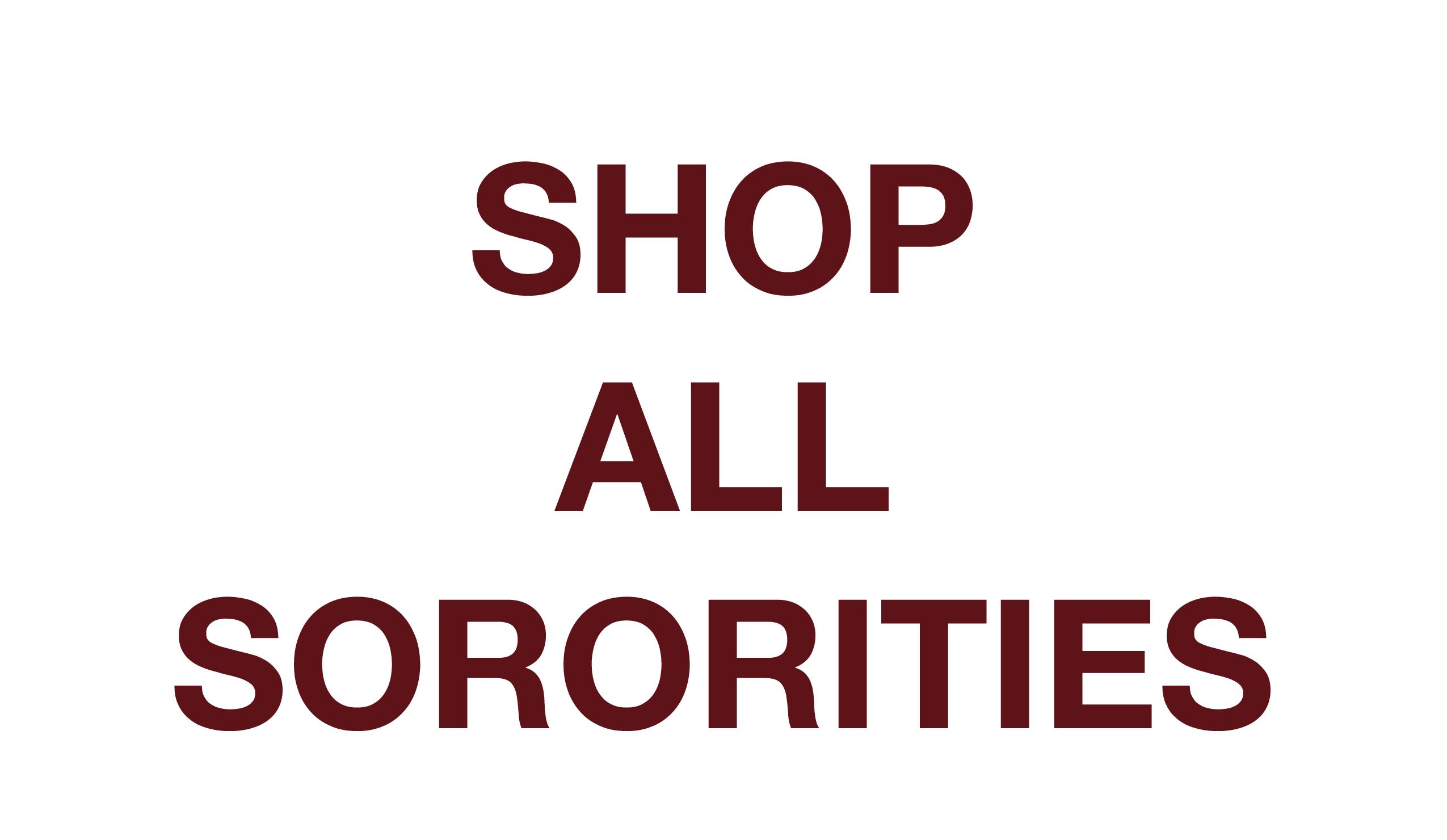 Shop Custom Greek Life and Sorority Apparel, Gamma Phi Beta, Delta Zeta, Chi Omega, Delta Gamma