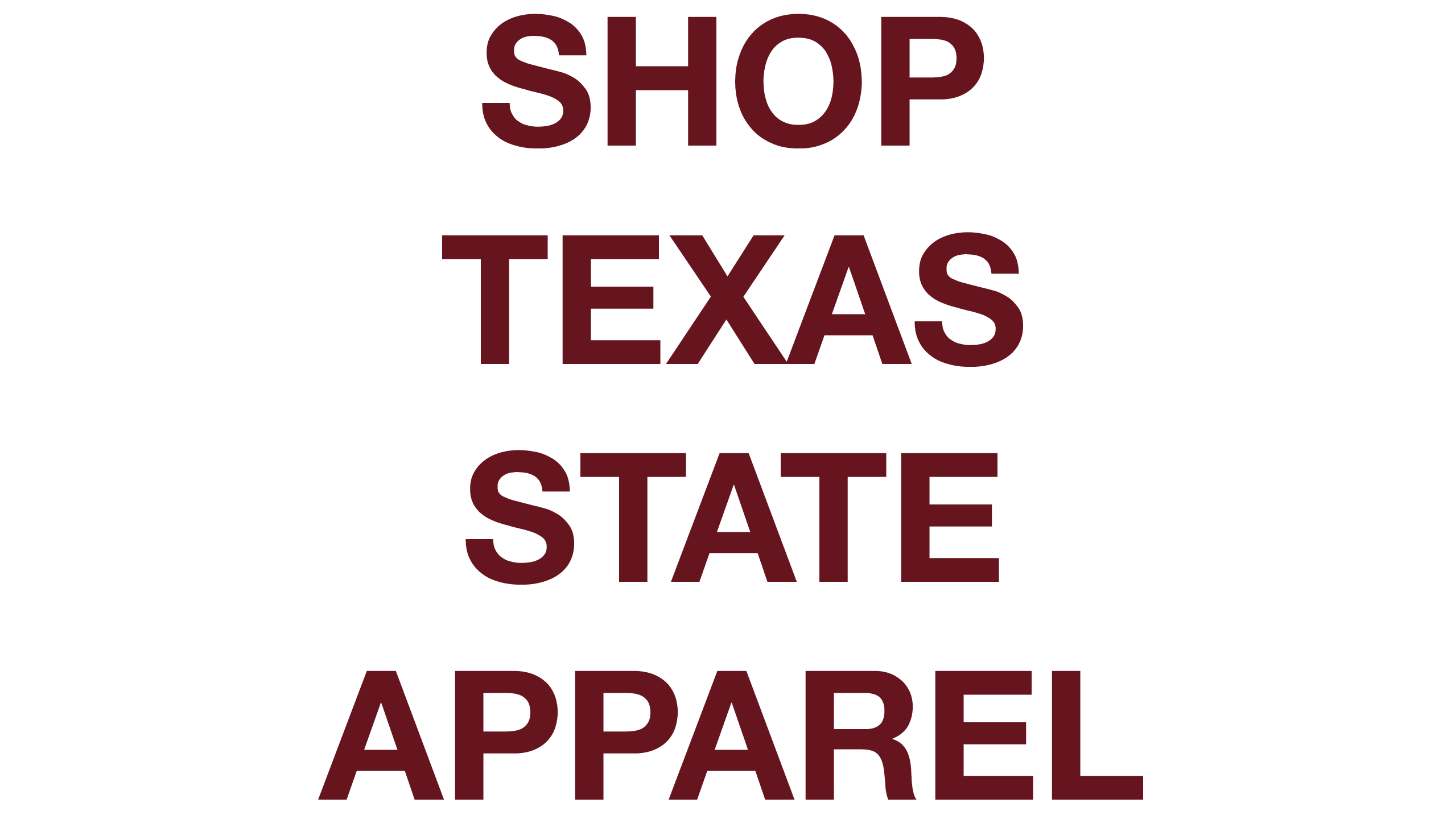 Shop Custom Apparel, Shop Texas State Apparel, Texas State University Apparel, TXST Apparel