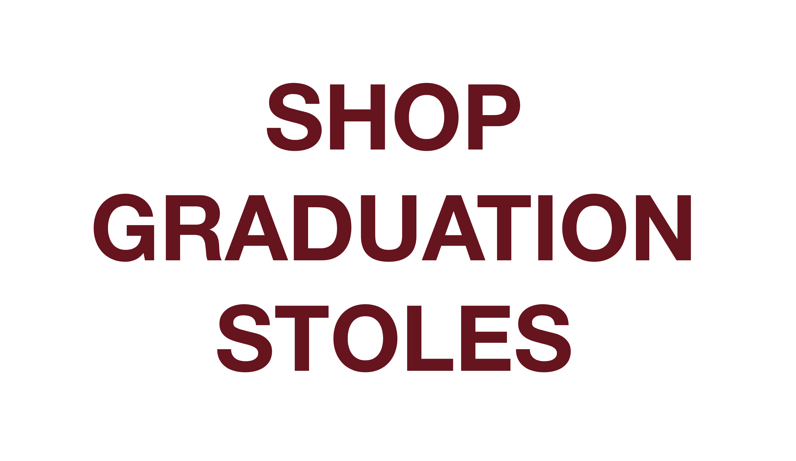 Customize Graduation Stoles, Greek Life Graduation Stoles, Graduation Sashes, Customize Texas State Graduation Stole