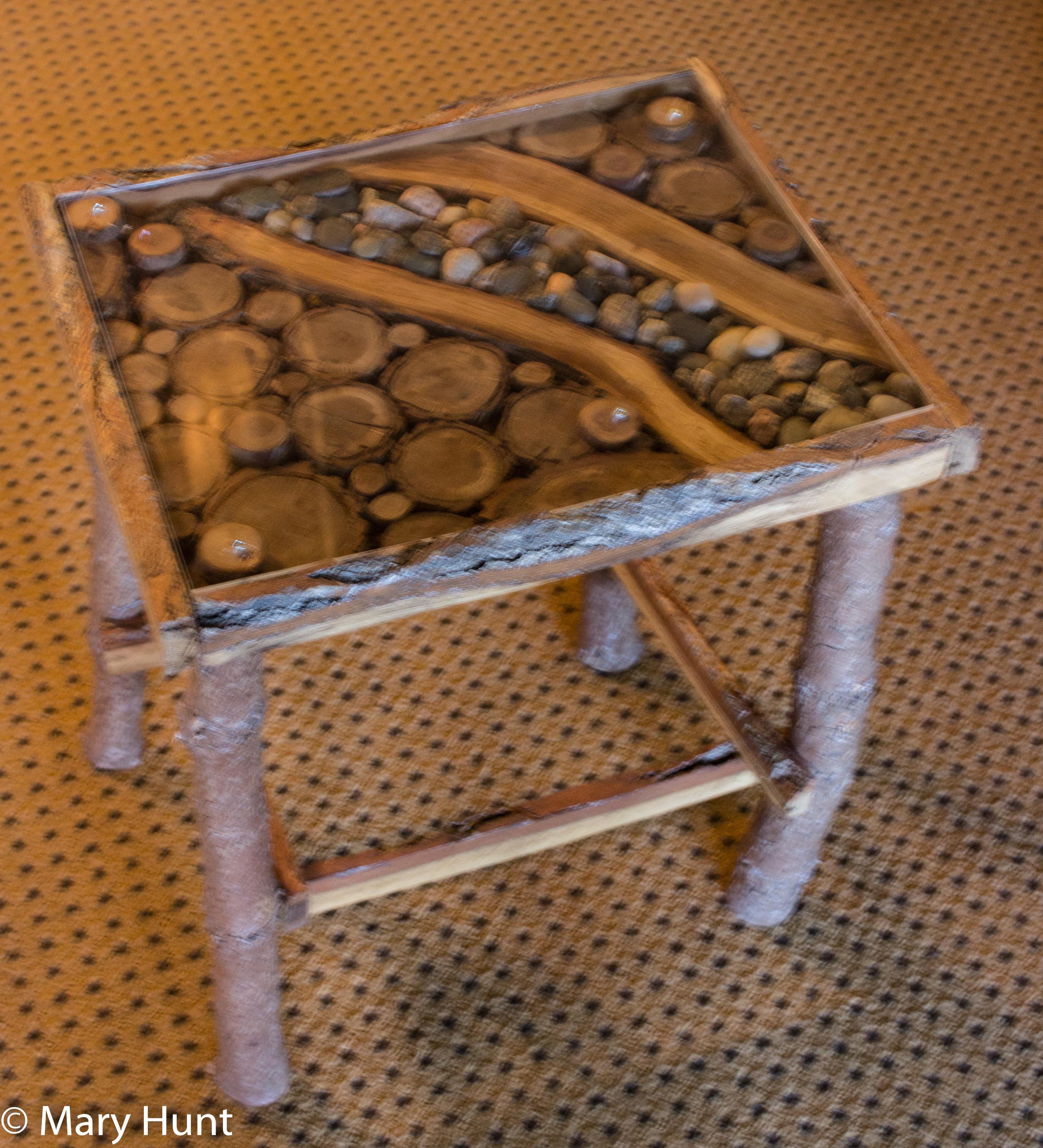 mixed-media furniture