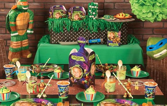 Children's Themed Birthday Party Supplies