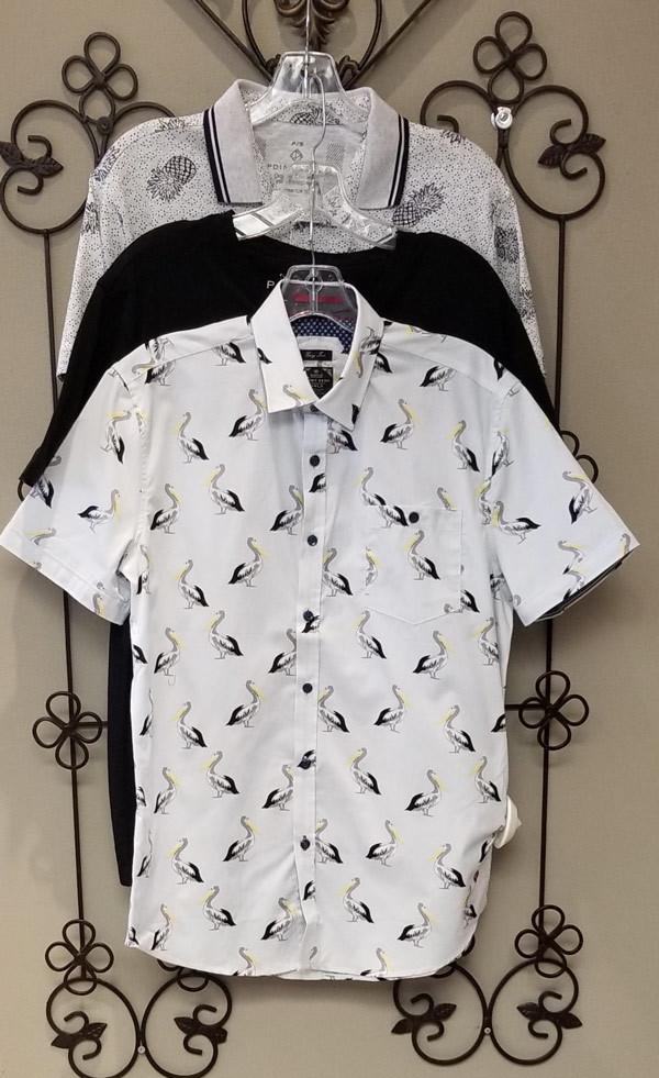 Point Zero Spring 2019 men's shirts
