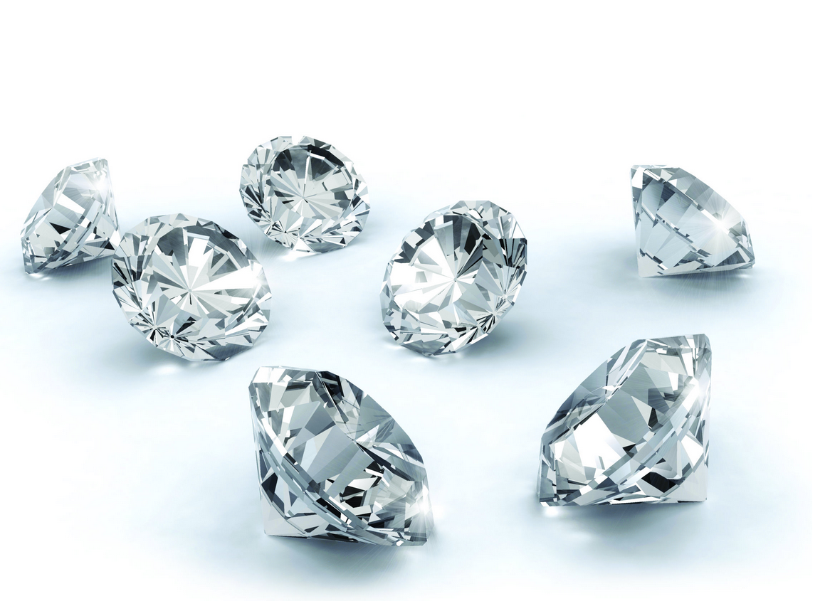 Diamonds, Cut, Color, Clarity, Carat Weight