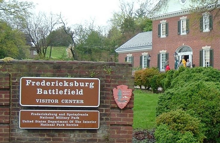 Fredericksburg Battlefield Visitor Center.