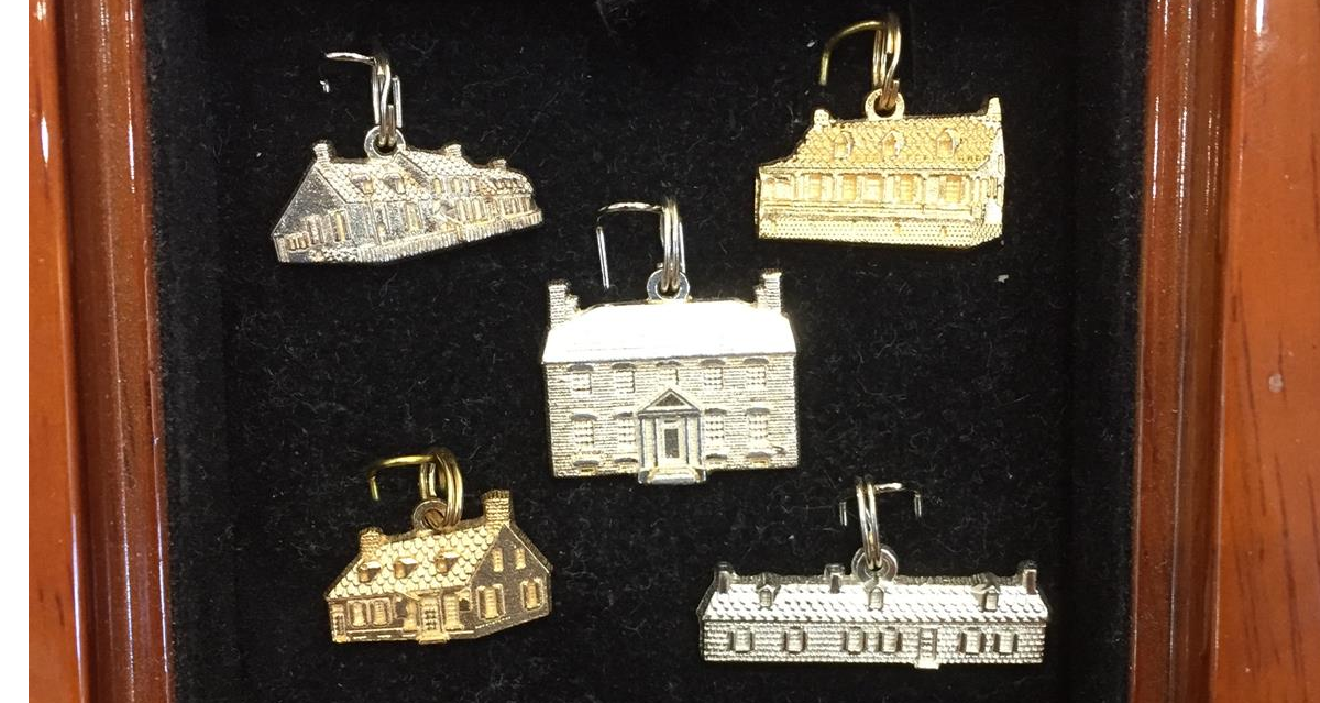 Fredericksburg charms exclusively by Gemstone Creations.