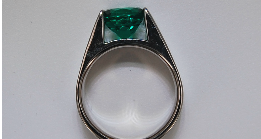 Custom designed ring by Gemstone Creations.