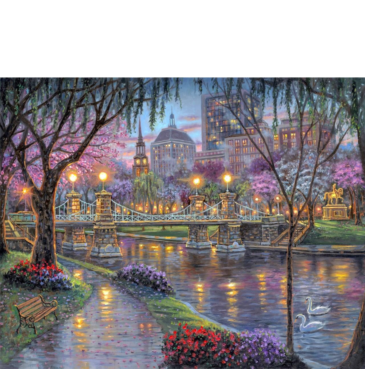 Robert Finale_painter_ romantic_ impressionist art_ Americana art_painter of light within_cityscapes_European art_oil painter