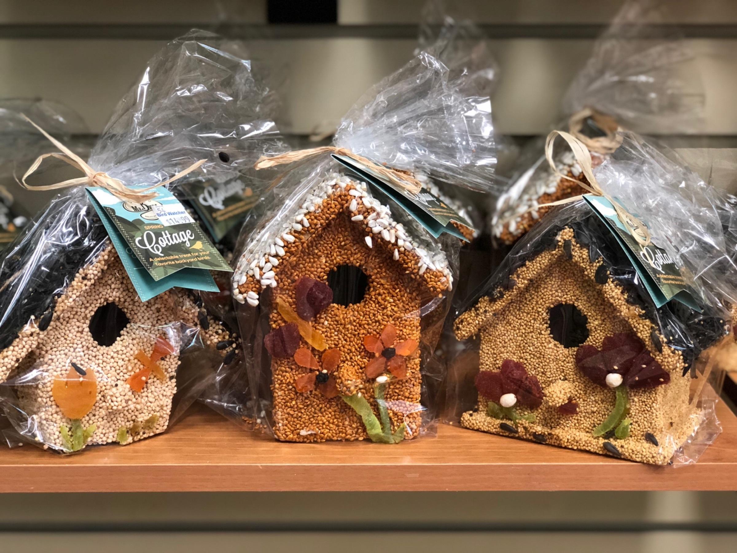bird seed, house, edible, seeds, fruit, gift, teacher, mother's day