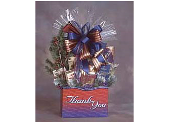 Thank you gift box for business clients.