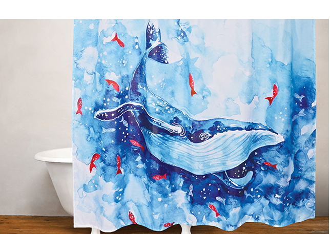 Kootenai Moon Furniture Bathroom Shower Rings