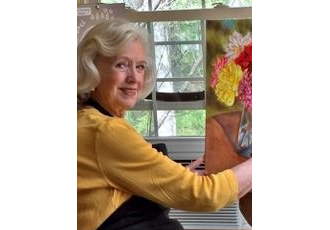 Caroline Young_painter_realism_florals_game boards_representaional art_oils_pastels_NC artist_flowers_landscapes_award winner