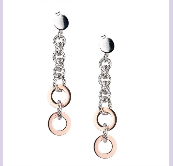 Sterling Silver Combo Earrings
