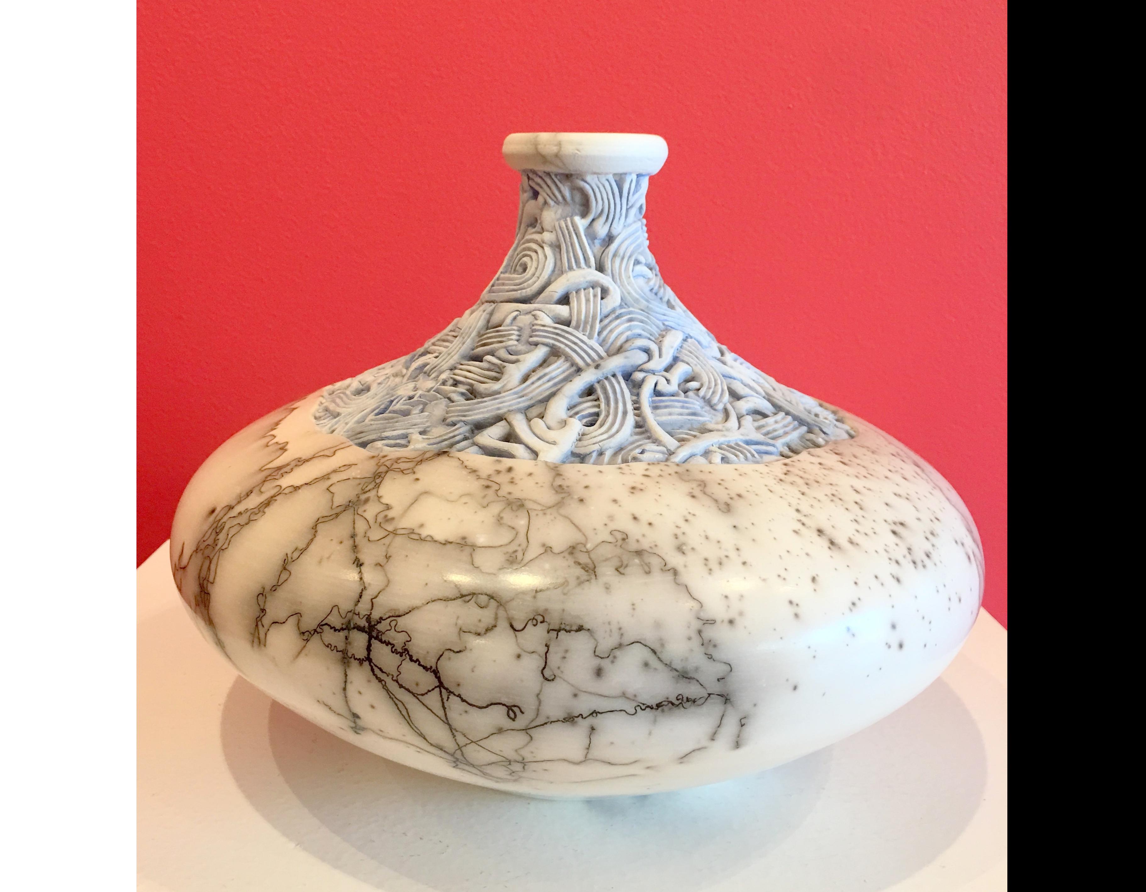 Jeff Margolin_ceramic artist_ceramic sculpture_contemporary sculpture_carved ceramics_California artist_