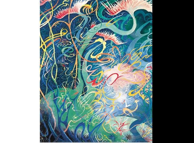 Surrealism, Dr. Seuss Secret Art, Midnight Paintings, Serigraph, Paris 1926,surrealist movement, Theodor Seuss Geisel, Cat i