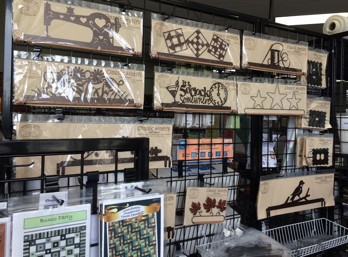 Metalware Ackfeld at Frank's Sewing Center Waukesha WI Sew Much More