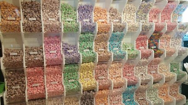 60 flavors of salt water taffy
