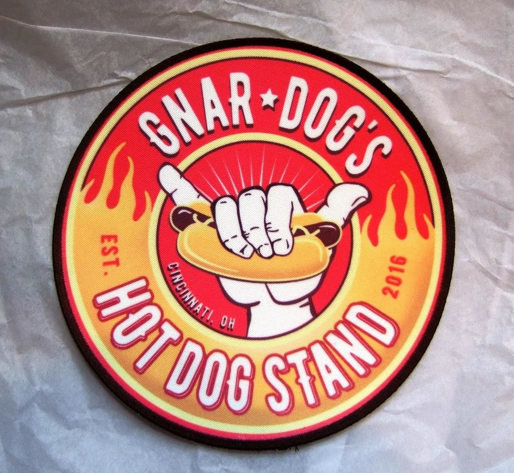 Gnar dog's hot dog stand patch