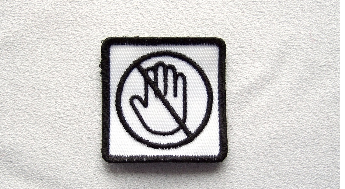 custom hand patch