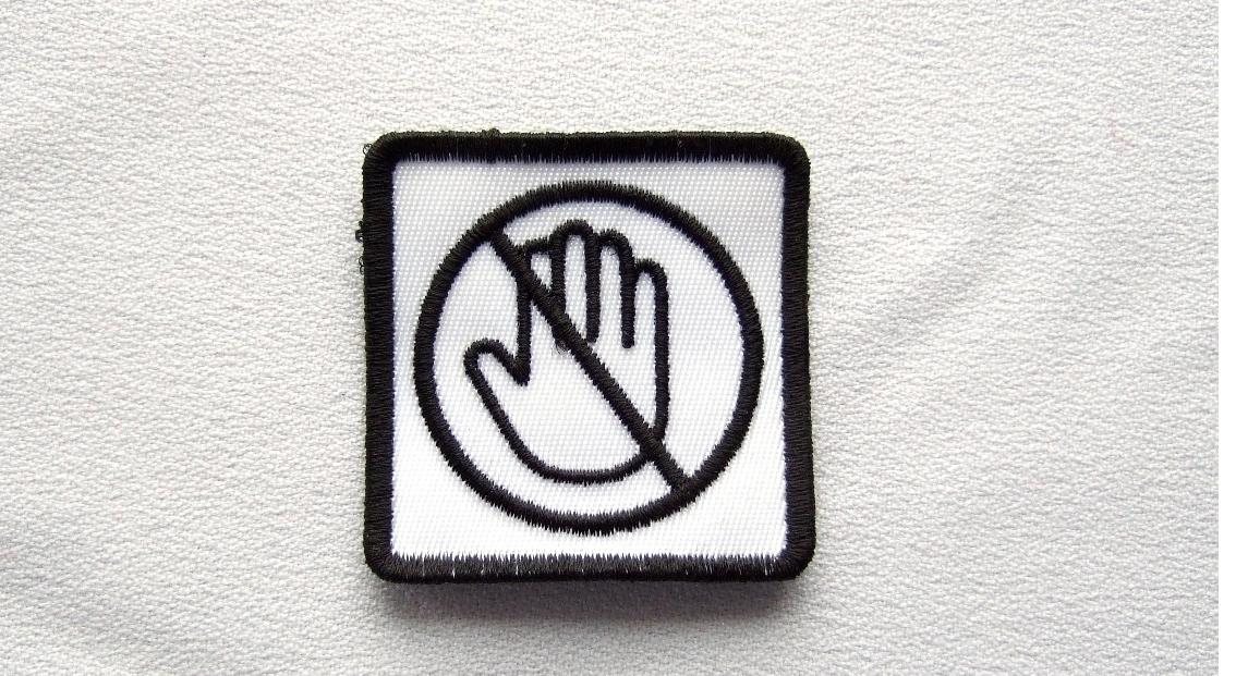 custom hand patch