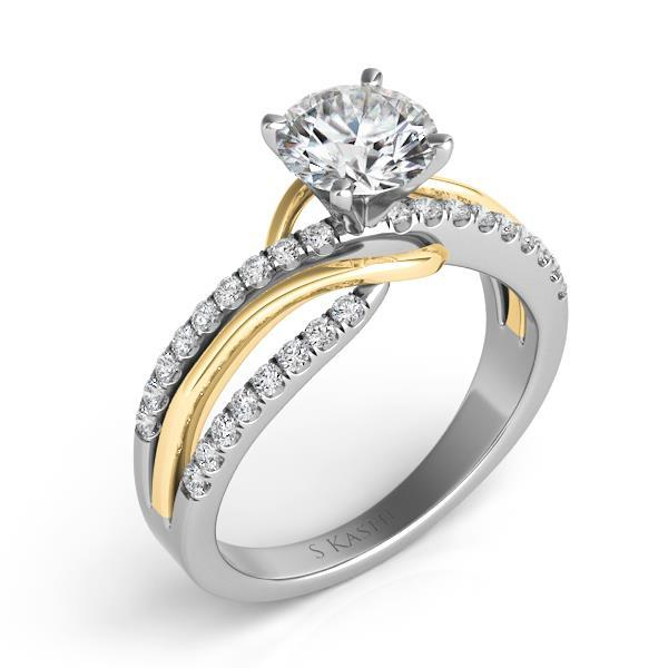 Engagement_ring_two_tone_diamond_twisted_mounting
