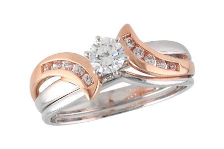 white_rose_gold_wedding_set_diamond