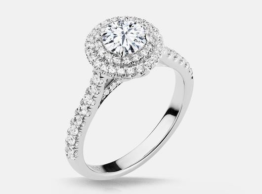 White_gold_double_halo_side_diamond_engagement_ring_mounting