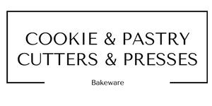 cookie and pastry cutters and presses bakeware at Gifts and Gadgets