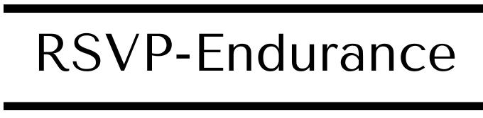 RSVP-Endurance