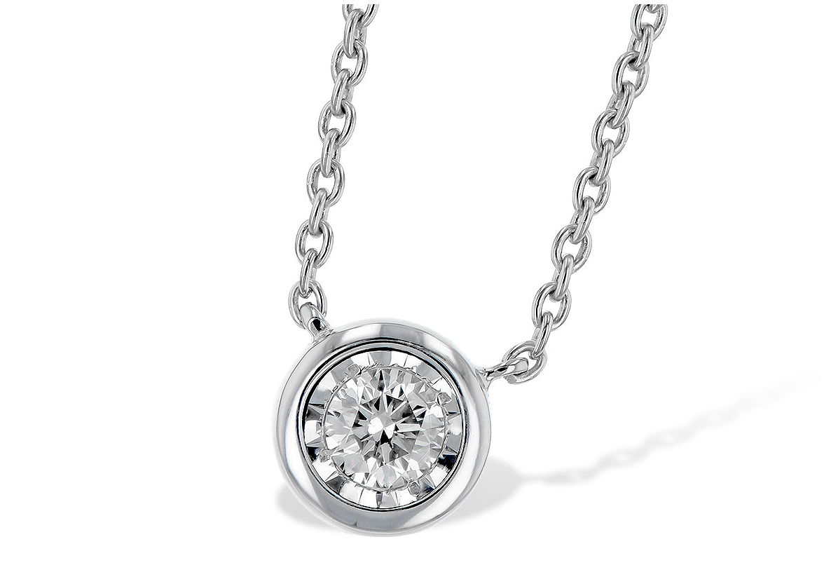 diamond pendant, diamond necklace, kluh jewelers