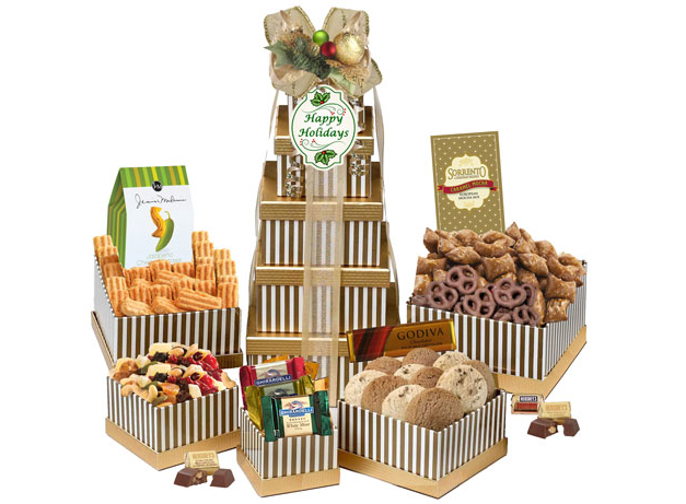 Holiday Jubilee Gift Tower
