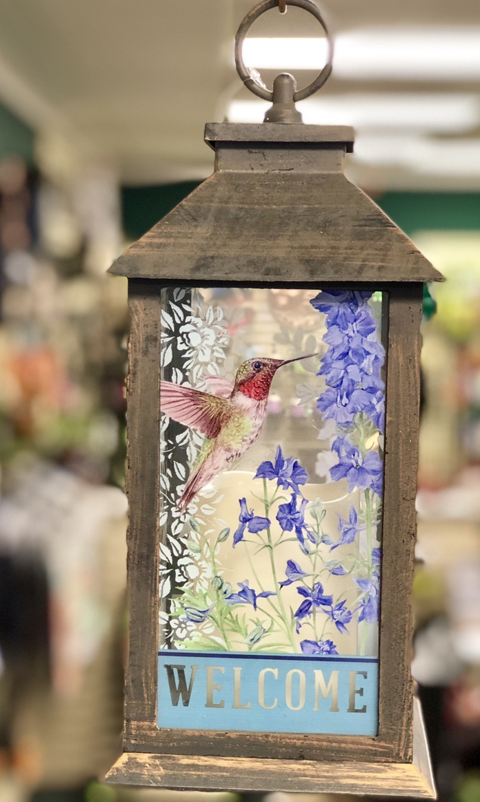 bird bath, glass, garden, yard art, winter, holly, blue jay