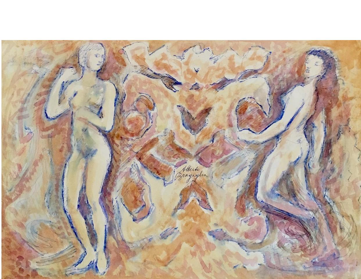 Alberto Bragaglia_Italian artist_Italian 20th century artist_futurism movement_