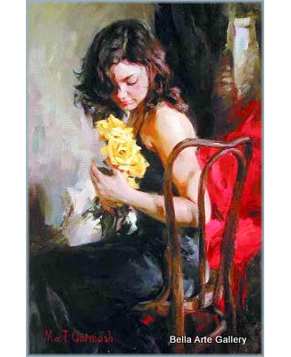 Michael Garmash_figurative_impressionism_Women_Inessa Garmash_oil painting_Ukraine artists_European artists_fine art_