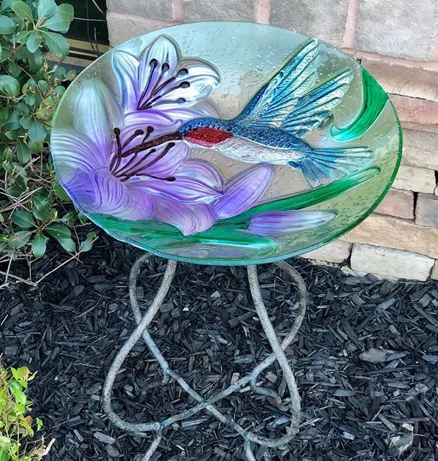Garden decor available at Bird Watcher Supply Company