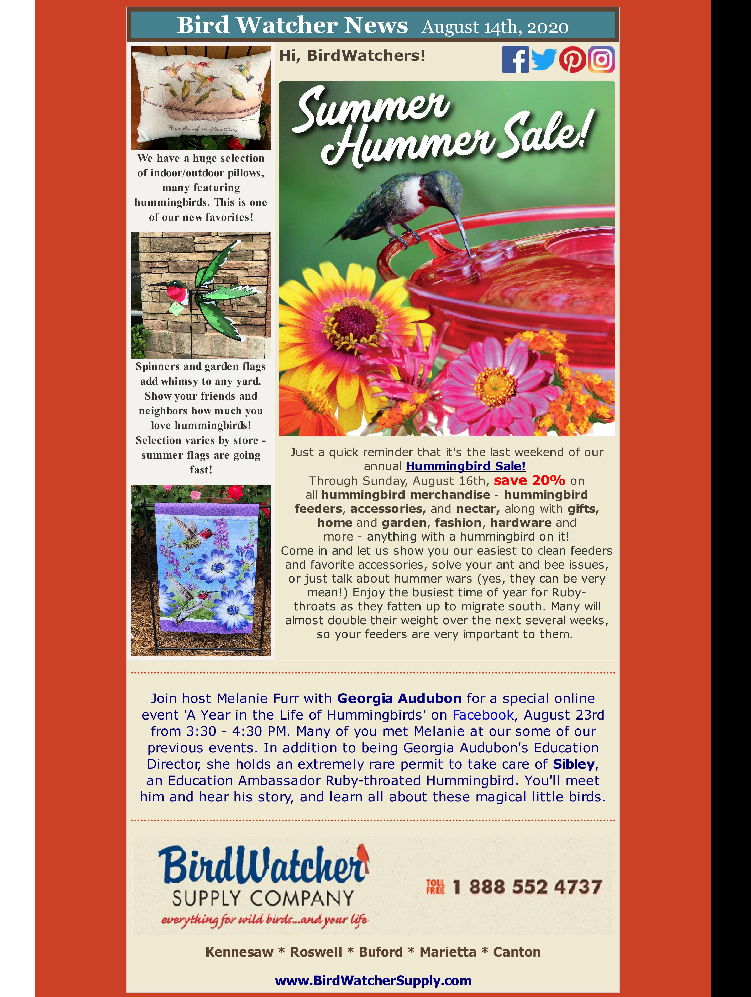 hummingbirds, hummers, garden, birds, spinners, feeders, sale, nectar, summer, shopsmall, shoplocal