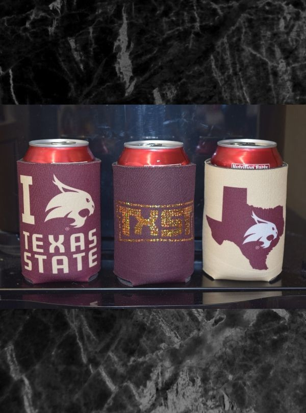 Texas State Can Coolers