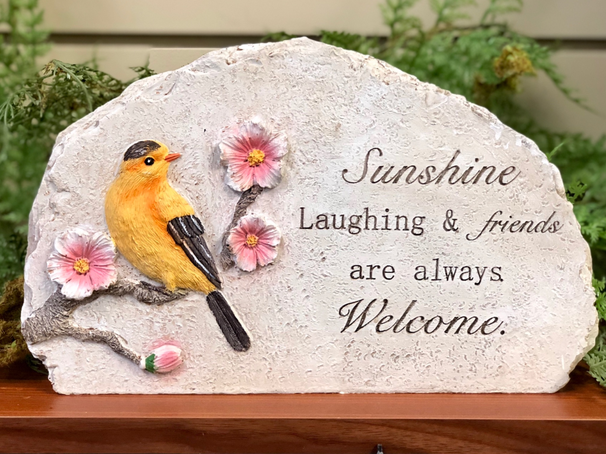 garden stakes, birds, whimsical, garden