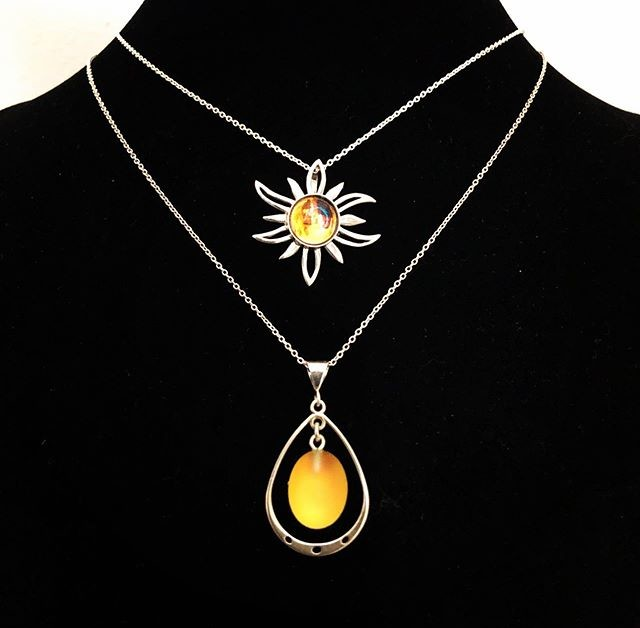 jewelry, necklace, earrings, crystal, sterling silver, sun