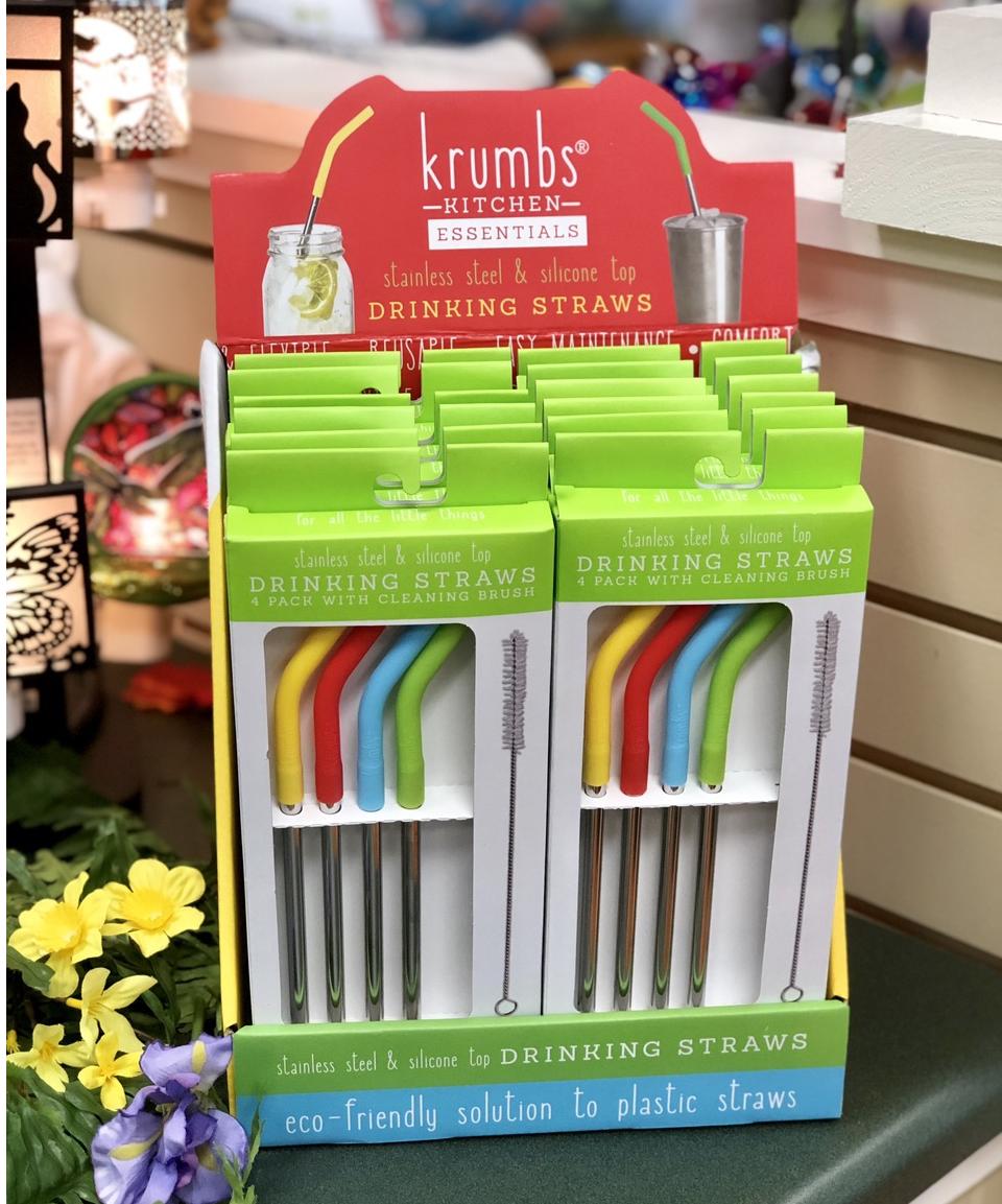 stainless straws, eco friendly, kitchen, travel