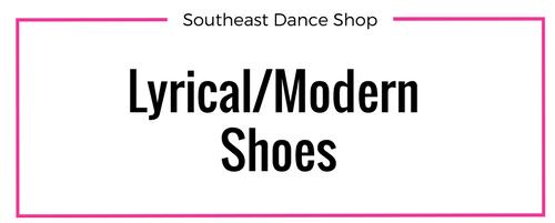 Online store Lyrical/Modern Shoes Southeast Dance Shop