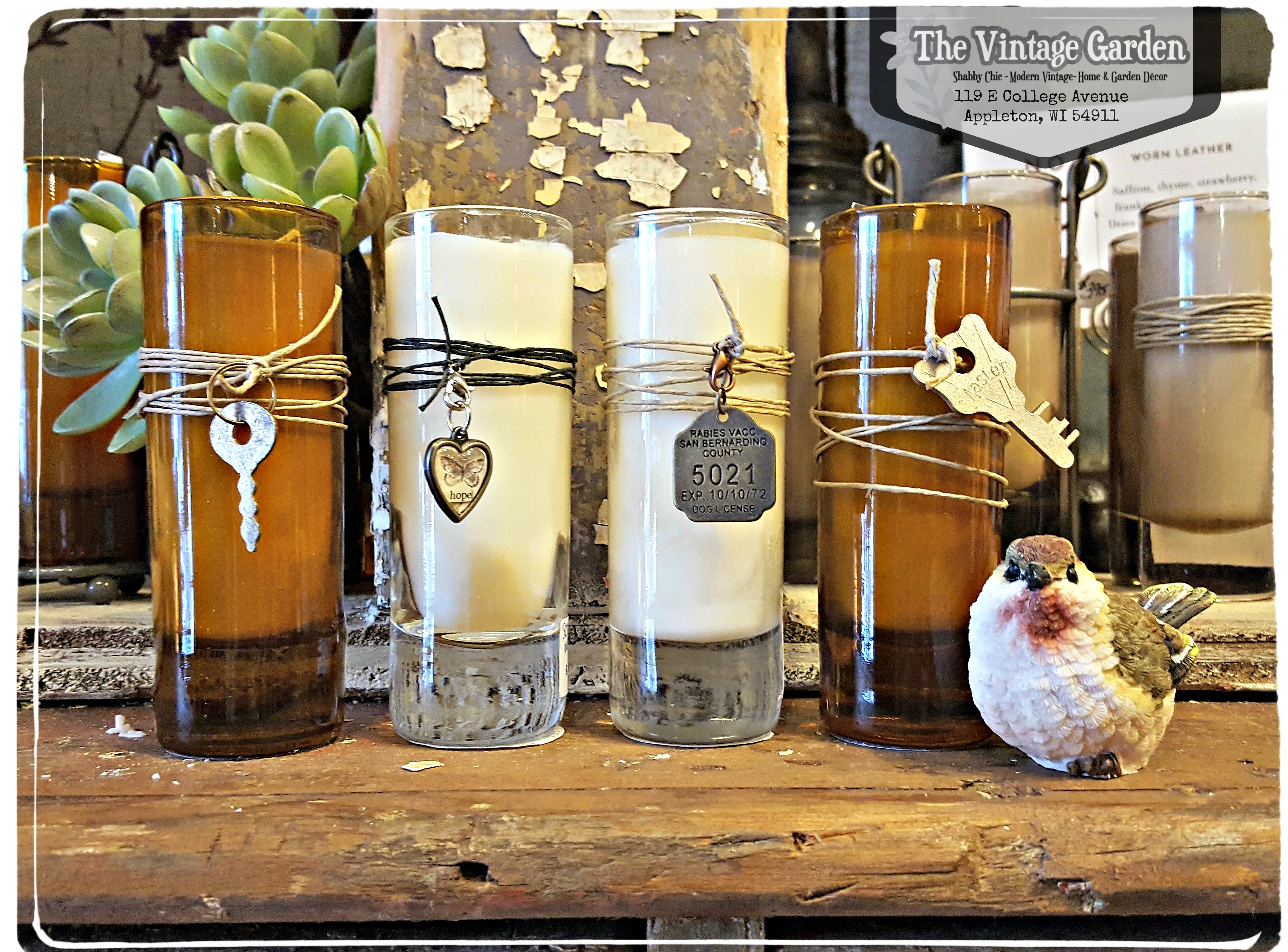 Offerings at The Vintage Garden!