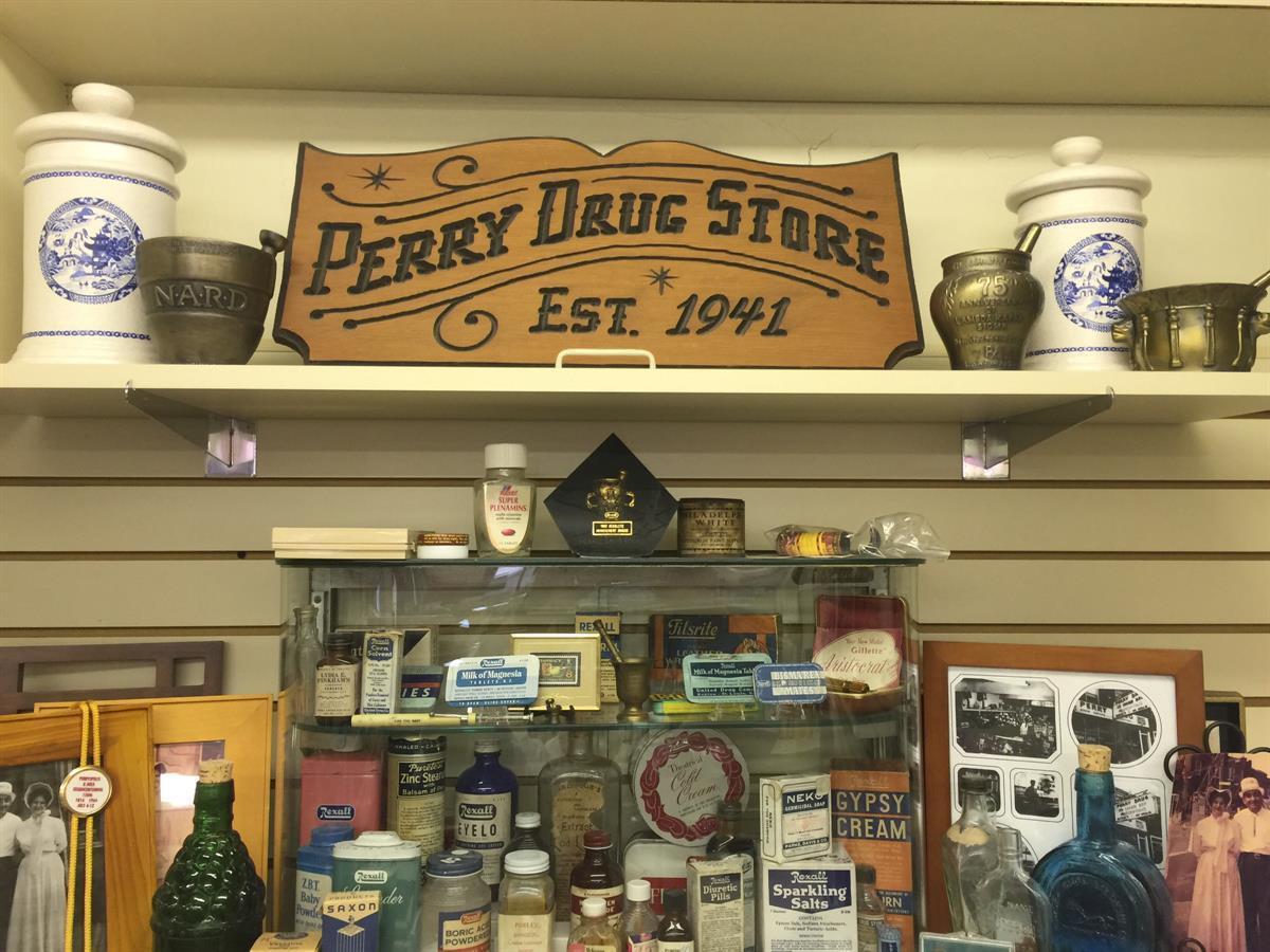 Perry Drug Store Est. 1941