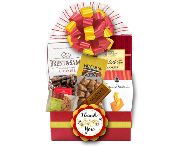 Admin Thank You gift basket