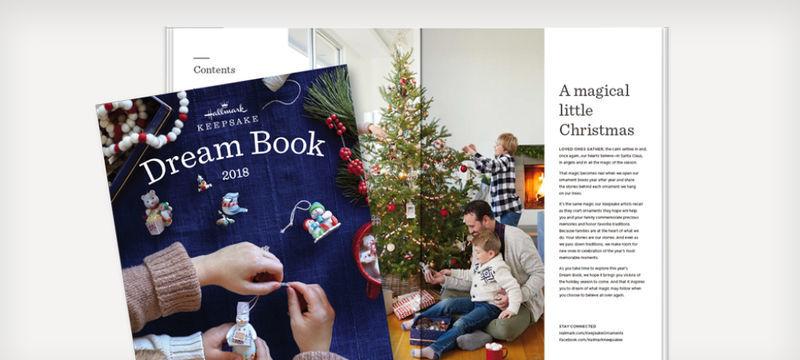 2018   Hallmark  Keepsake  DREAM BOOK  with WISH LIST