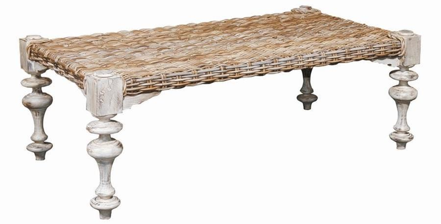 kubu west indies coffee table
