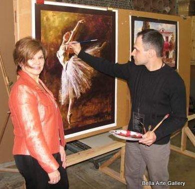 artist andrew atroshenko, oil paintings, original art, Ukraine artist, giclees, limited edition, figurative artist,