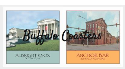 Buffalo Coasters | Cardsmart in Buffalo, NY