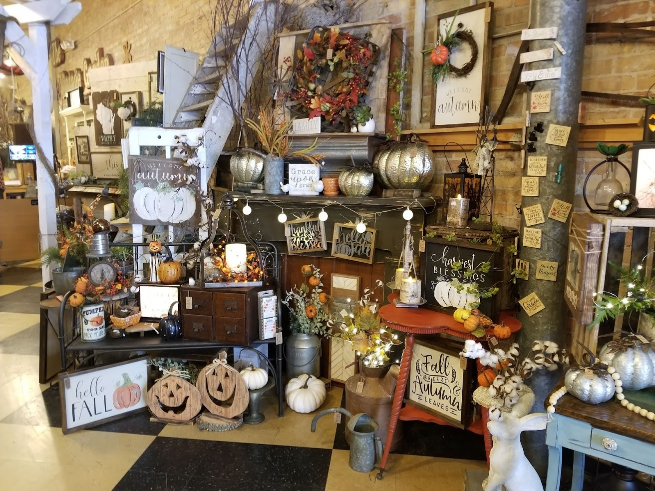 Reclaimed, Painted Furniture & Vintage Inspired Decor!
